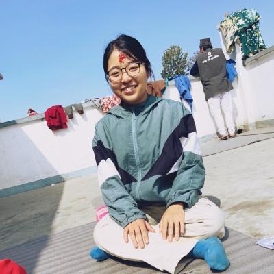 ネパールでチャイルドケア 鈴木花梨